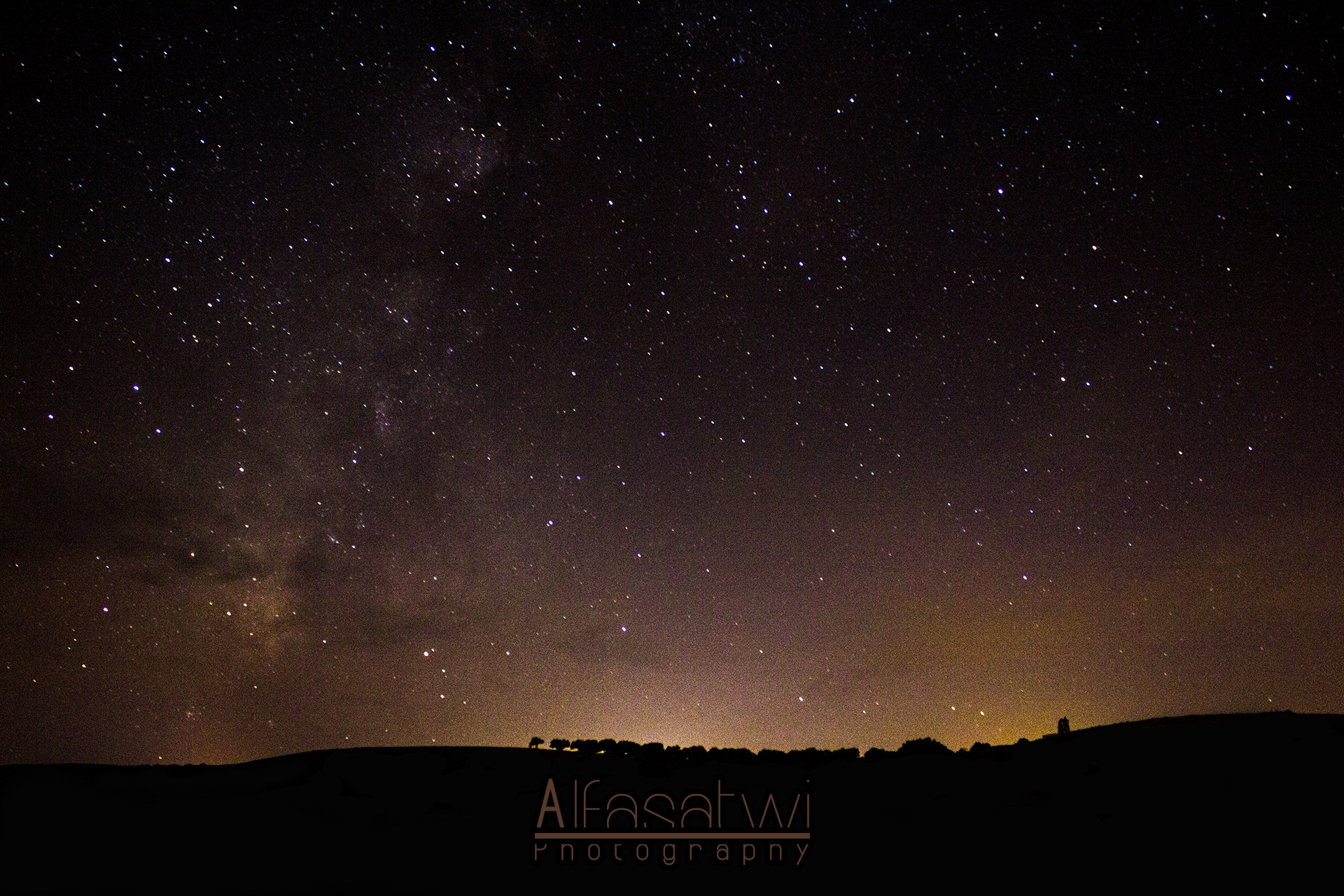 Photograph Stars in Jadu. by Ahmed Alfasatwi on 500px