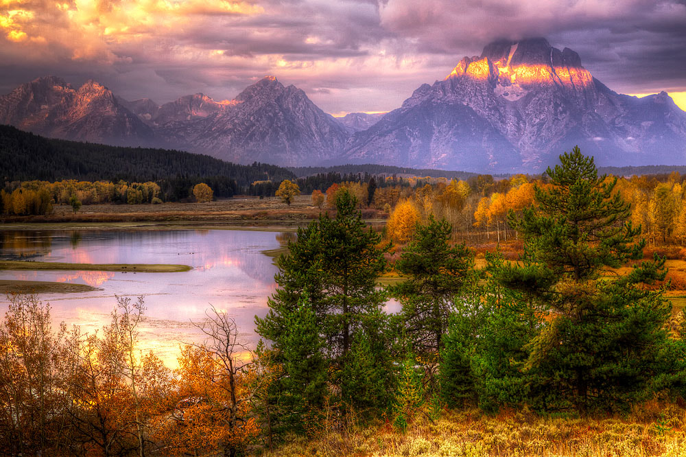 Photograph Oxbow Bend by Ivan Peña on 500px
