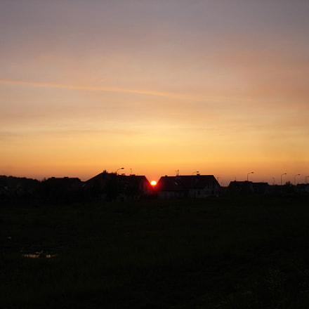 Sunset, Sony DSC-W12
