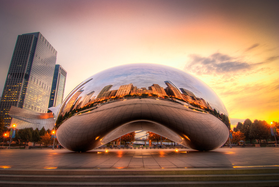 most beautiful cities in the world -Chicago Bean by Ali Erturk on 500px.com