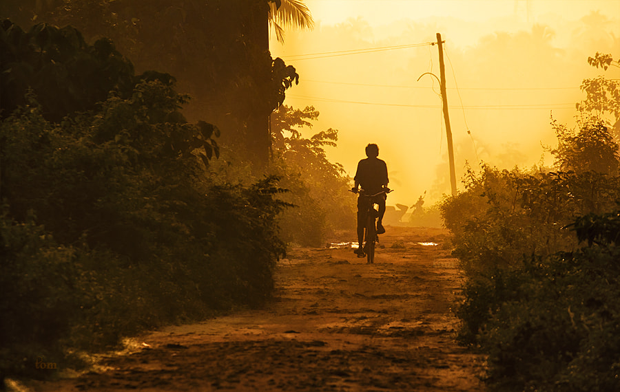 Photograph Morning Ride by Tom  Abraham Dcruz on 500px