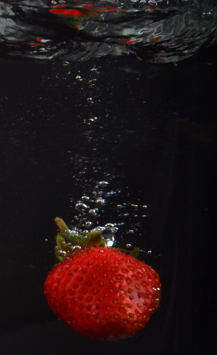 Photograph Strawberry Splash by Grant Southey on 500px