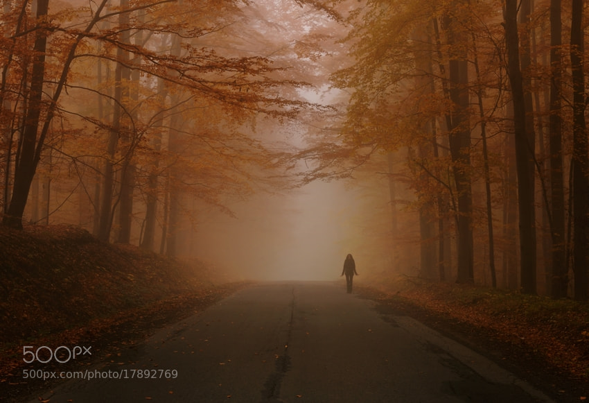 Photograph ghost hitchhiker by Sebastian Luczywo on 500px
