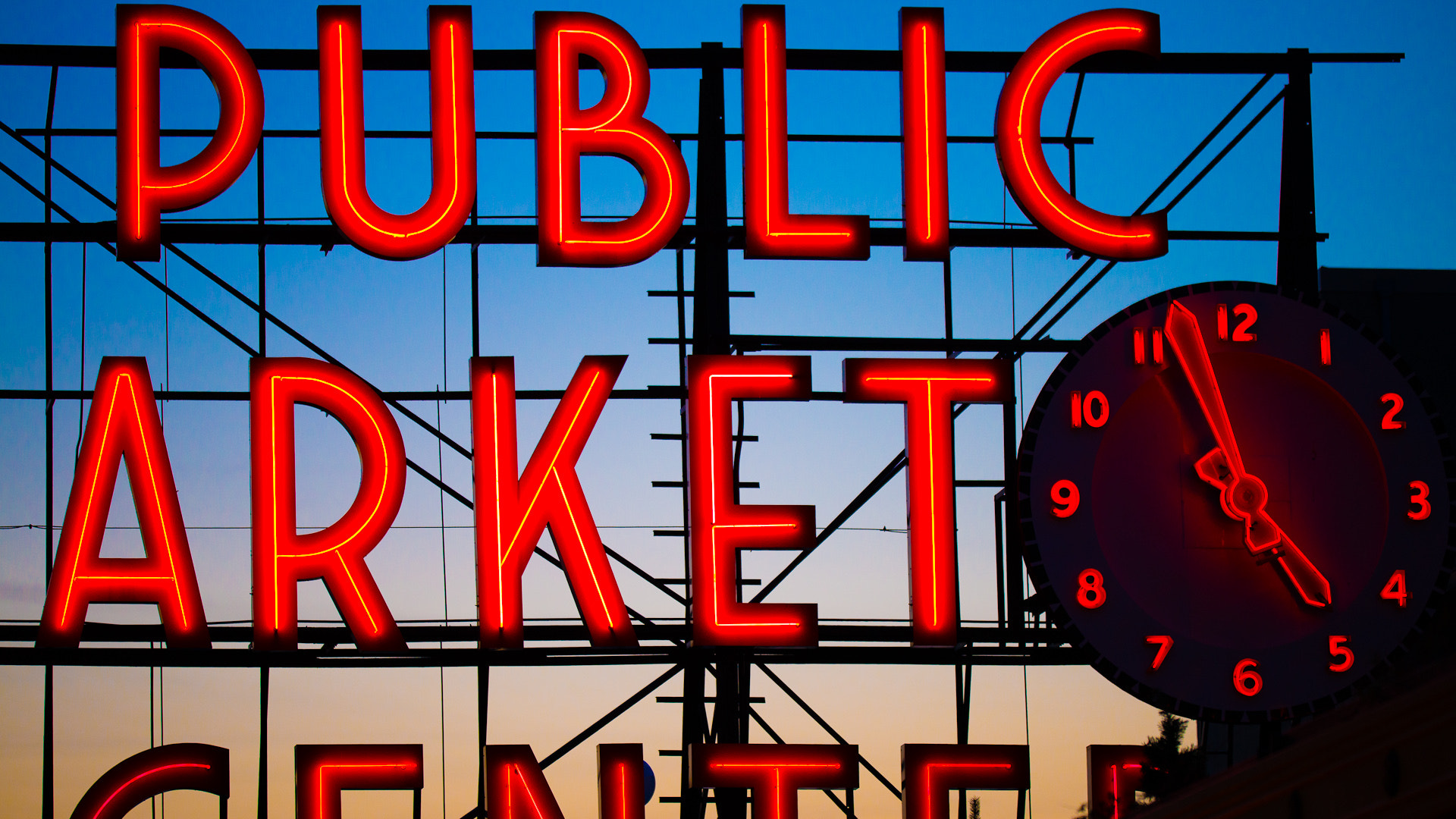 Photograph Pike market sign - 2 by Abishek Murali Mohan on 500px