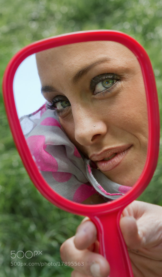 Photograph Eyes in the mirror by Lorenzo Banchi on 500px