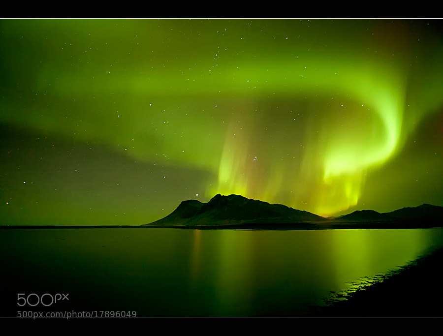 Photograph Aurora´s Heart by Þorsteinn H Ingibergsson on 500px