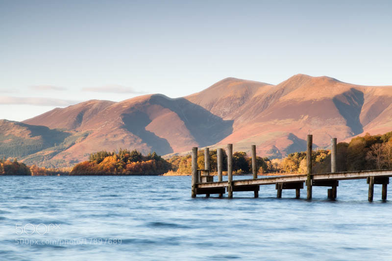 Photograph Ashness Jetty by Carl Mickleburgh on 500px