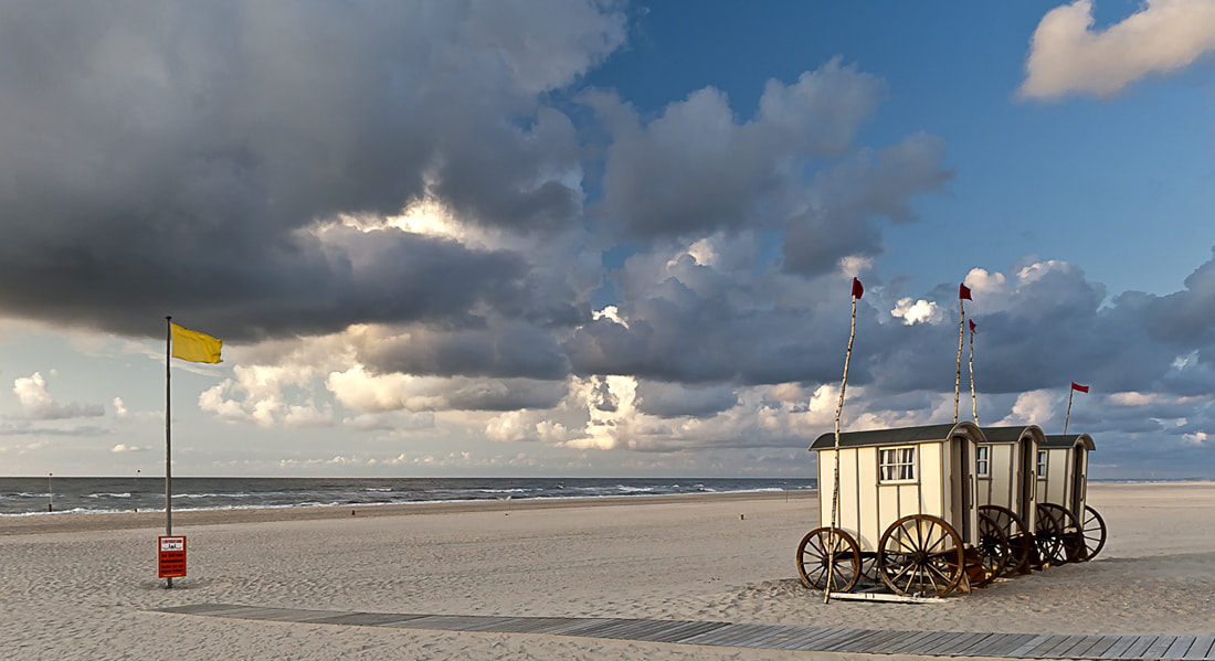 Photograph The Beach Coaches of Norderney by Claus Roesler on 500px