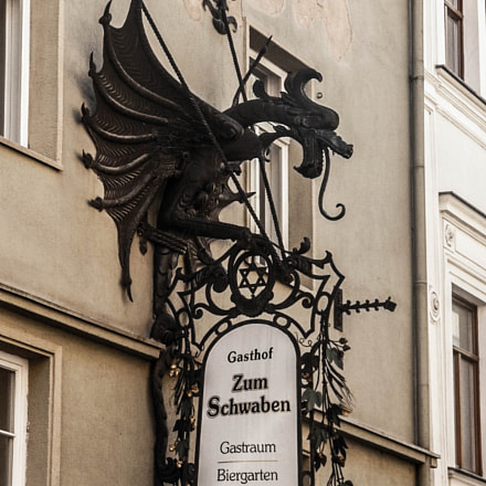 Dragon Sign in Zittau, Panasonic DMC-FZ2