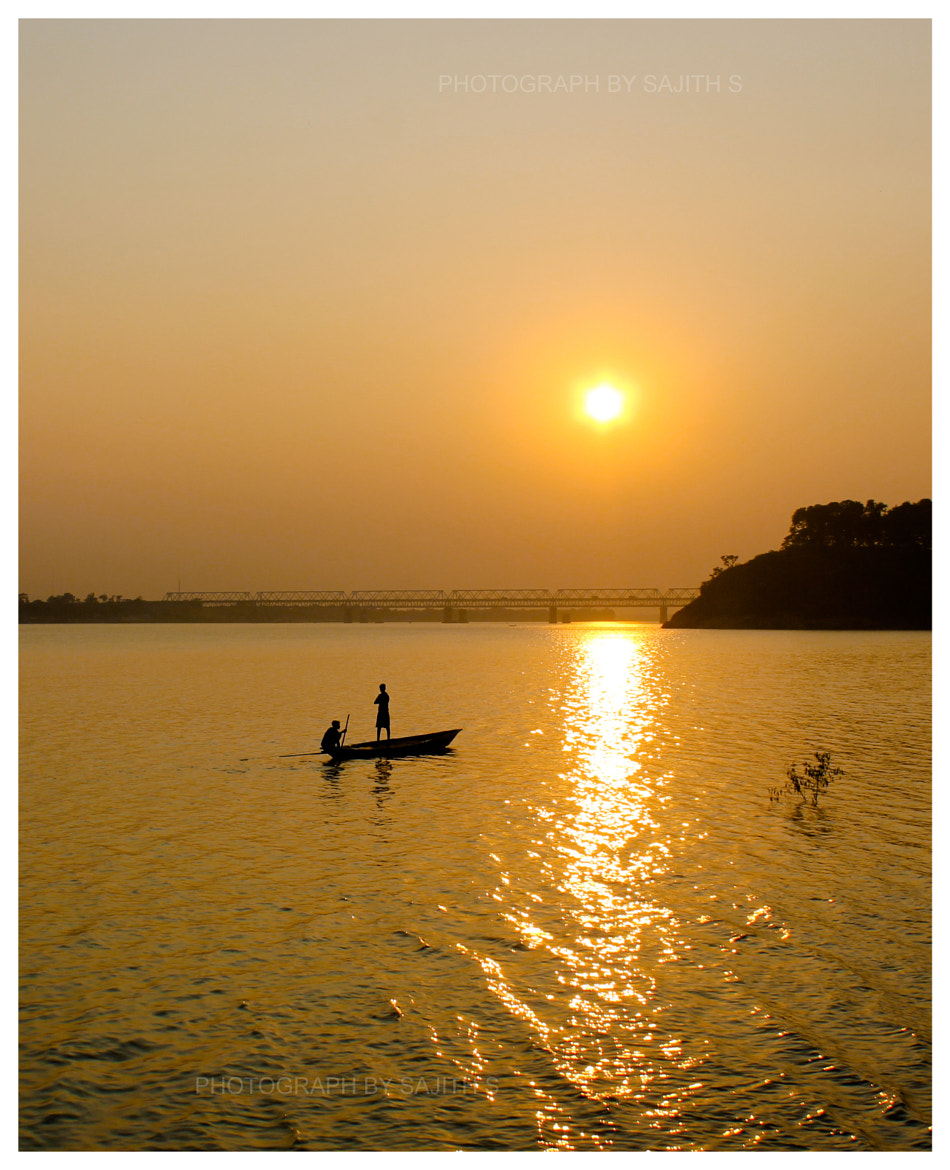 Photograph Golden Sunset by Sajith S on 500px