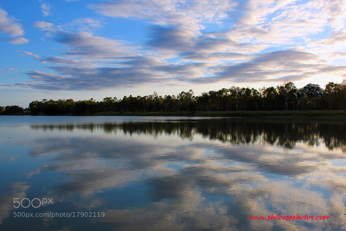 Photograph Cloud reflections by Phil Copp on 500px