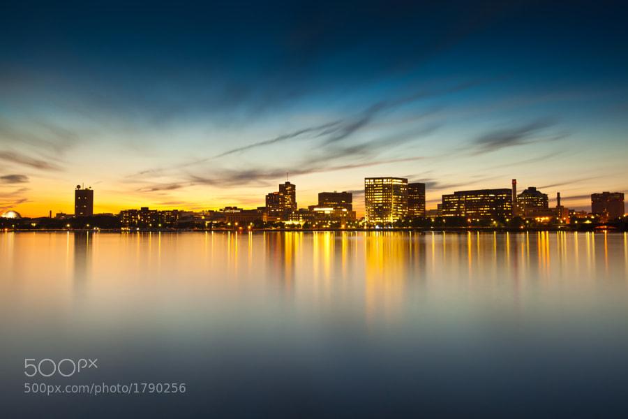 Charles River at sunset