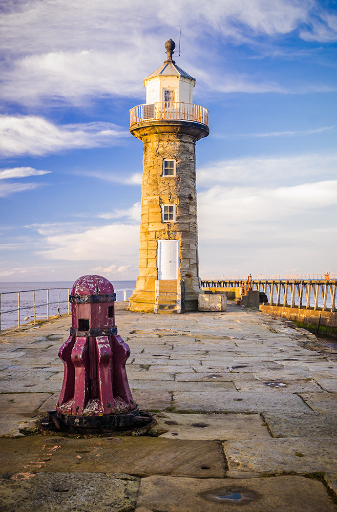 Photograph Whitby Lighthouse by Andy Butler on 500px