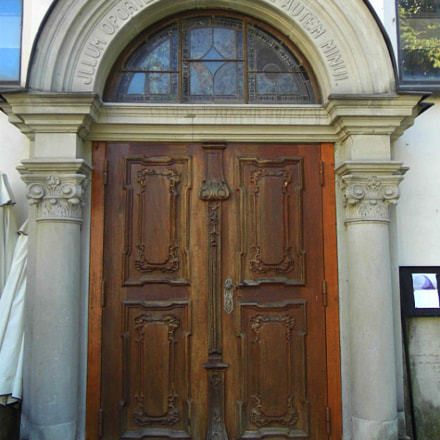 Beautiful Old Doorway, Panasonic DMC-LZ30