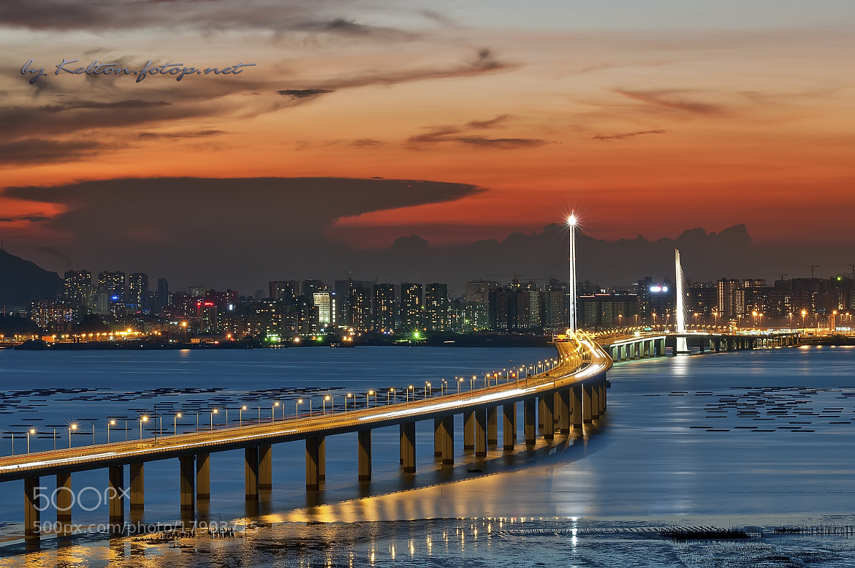Photograph Hong Kong-Shenzhen Western Corridor by Kelton Fan on 500px