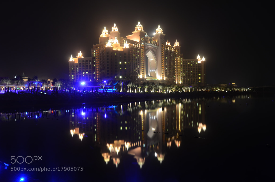 Photograph atlantis at night by tony martin on 500px