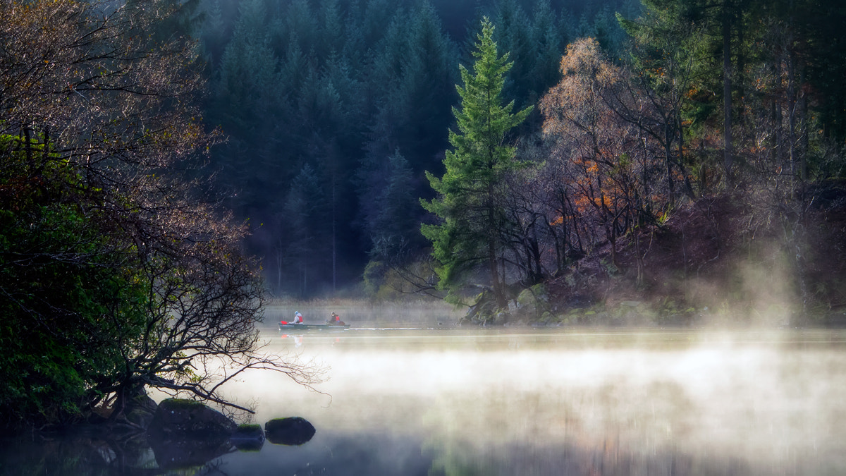 Photograph Sunday morning paddle... Loch Ard, Trossachs by David Mould on 500px