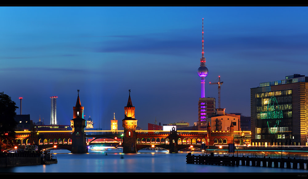 Photograph Berlin Skyline by Frank Herrmann on 500px