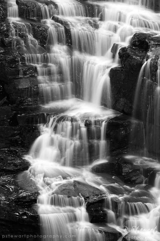 Photograph Corra Linn Steps by Philip Stewart on 500px