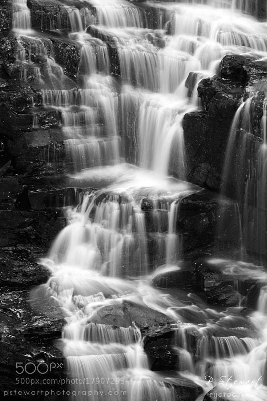 Photograph Corra Linn Steps by Philip Stewart on 500px