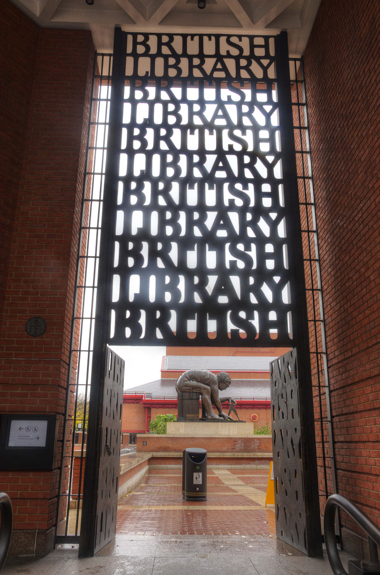 Photograph The British Library Gate by David Trotter on 500px