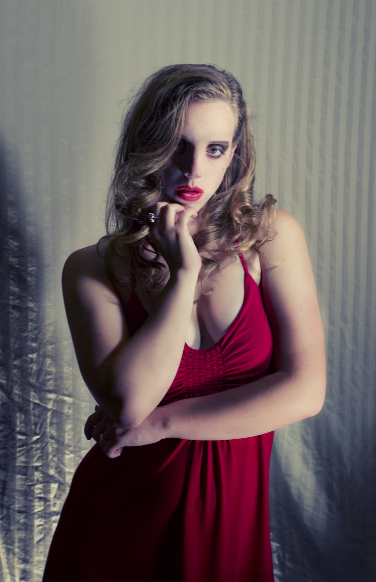 Photograph Michelle in Red IV by Joshua Montez on 500px