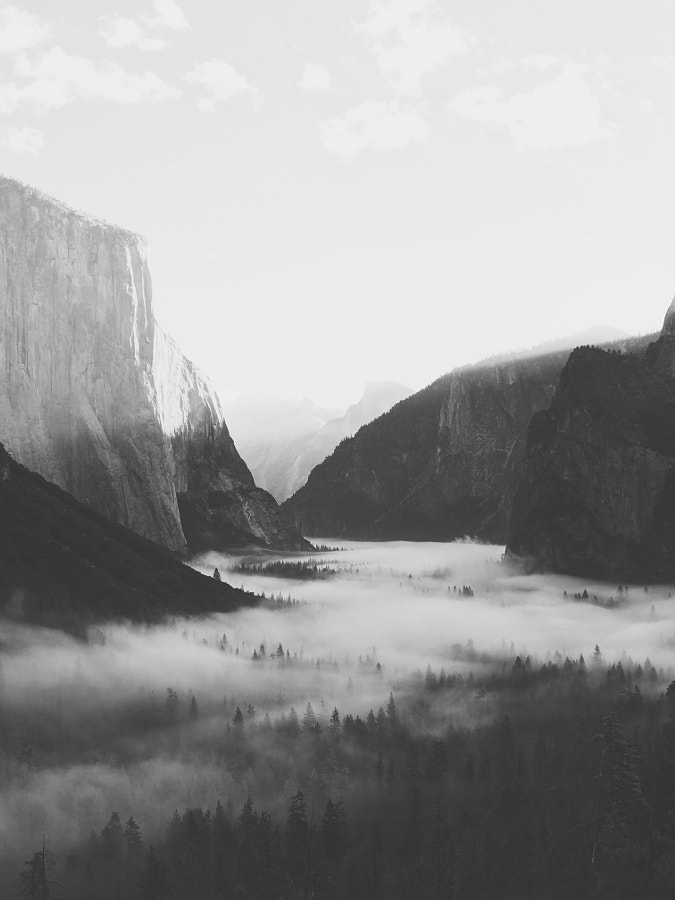 Yosemite shot on iPhone 7 Plus. by Bryan Daugherty on 500px.com