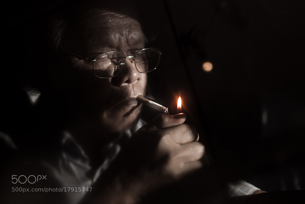 Photograph The Smoking Man by Potsawat Sirichan on 500px