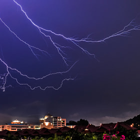 Forked Lightning by Tom Kirkwood (TomKirkwood)) on 500px.com