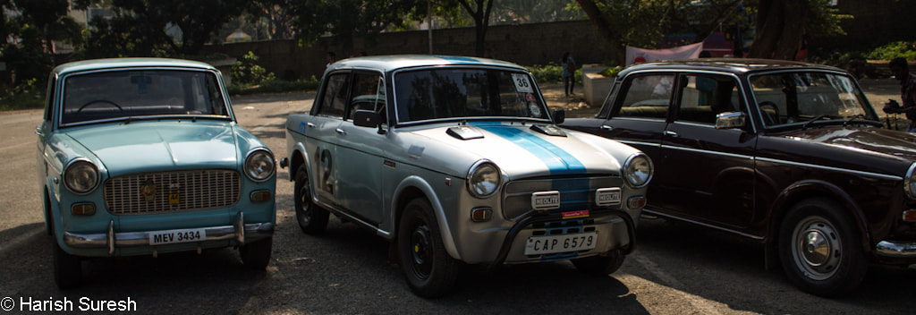 Photograph The Many Faces of the FIAT Premier Padmini by Harish Suresh on 500px