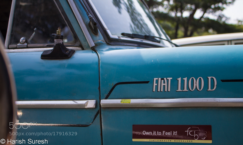 Photograph The FIAT 1100D by Harish Suresh on 500px