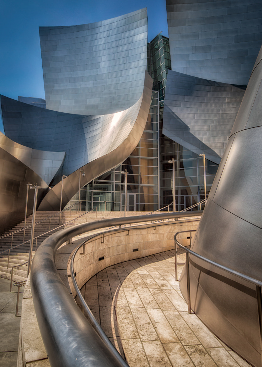 Photograph Gehry's Lines by Michael Sherwood on 500px