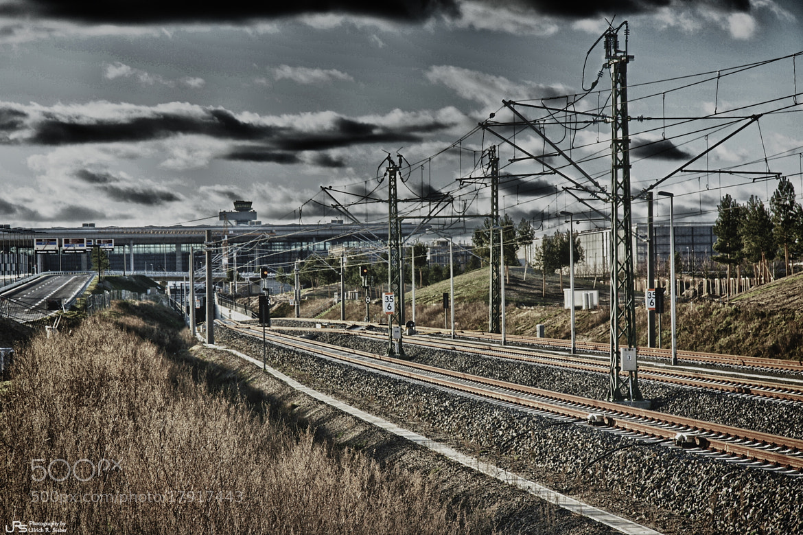 Photograph Train to BER by Ulrich R. Sieber on 500px