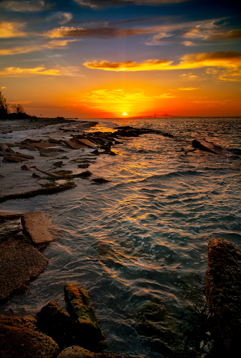 Photograph Sunrise over Tampa Bay by Gloria Matyszyk on 500px