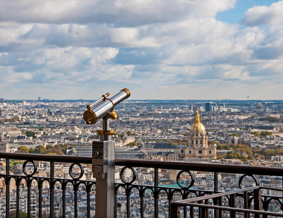 View of Paris (Eiffel Tower)