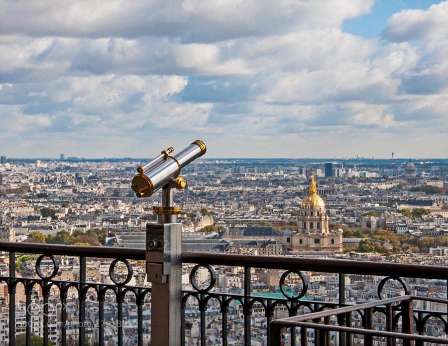 View of Paris (Eiffel Tower)
