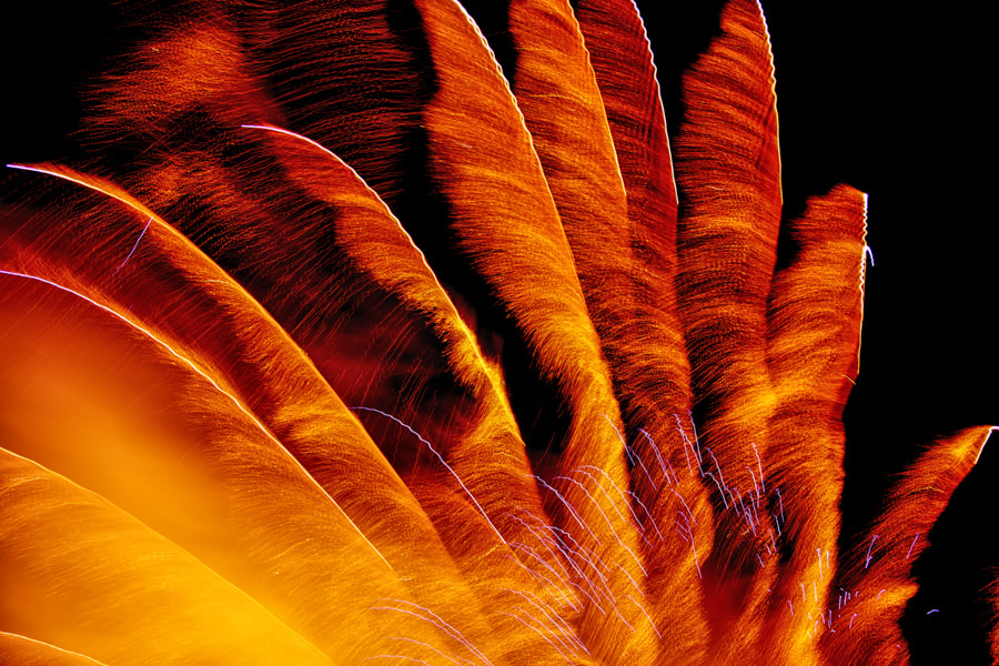 Photograph Fireworks by David A Lee on 500px