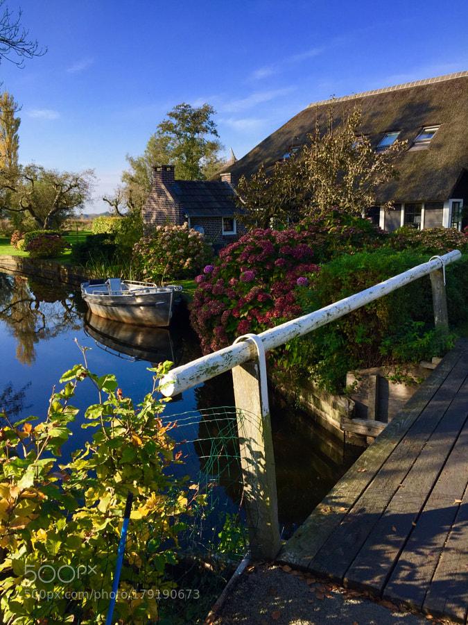 Dwarsgracht, Holland.