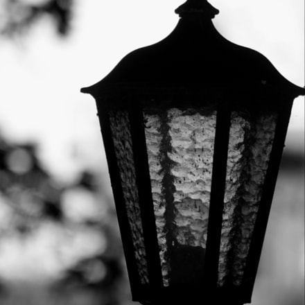 lantern bw