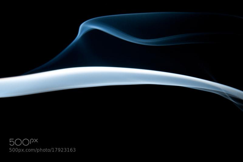 Photograph Blue Smoke by Dean Grzanic on 500px