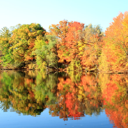 Fall reflection, Canon EOS 7D, Canon EF 35-80mm f/4-5.6 USM