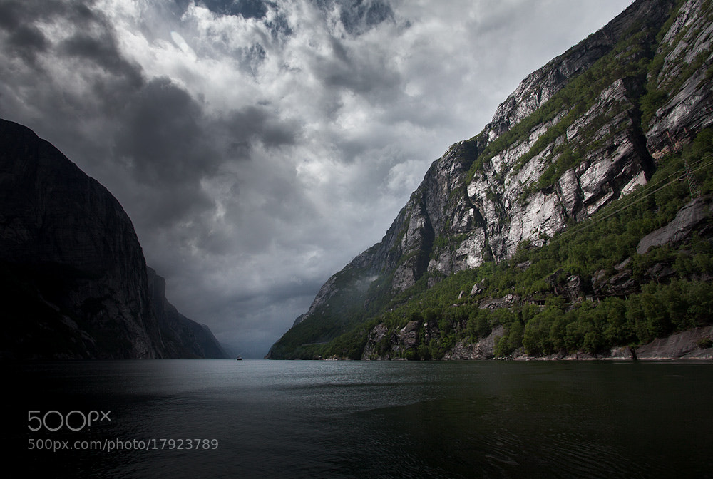 Photograph fjord of light by Jon Packer on 500px