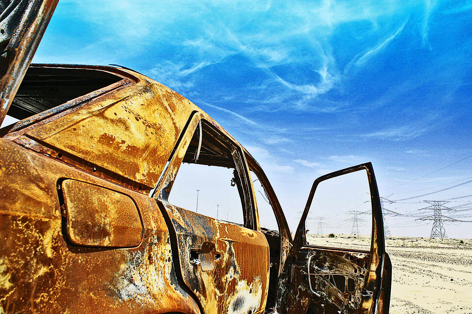 Photograph Burned car by Christos Psaras on 500px