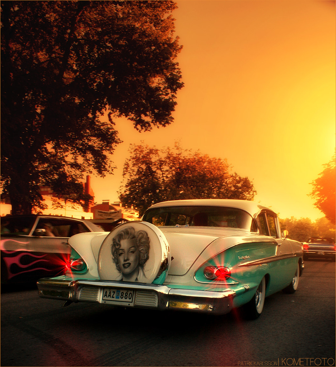 Photograph Chevrolet BEL AIR 1958 by Patrik  Karlsson on 500px