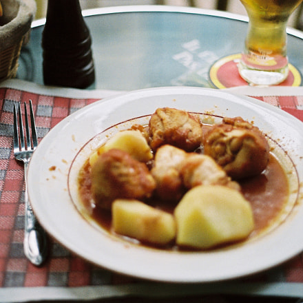 Pieds paquets, Canon AE-1