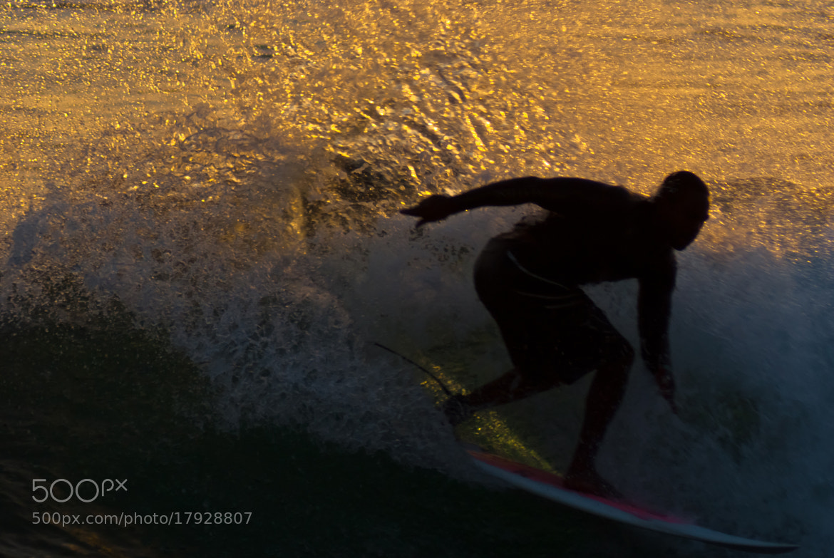 Photograph Sunset Surfer by David Pope on 500px