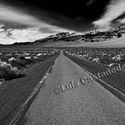 Volcanic Road. Death Valley., Panasonic DMC-L10