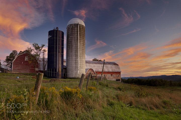 Photograph Sparrow Farm sunset by Mitch Moraski on 500px