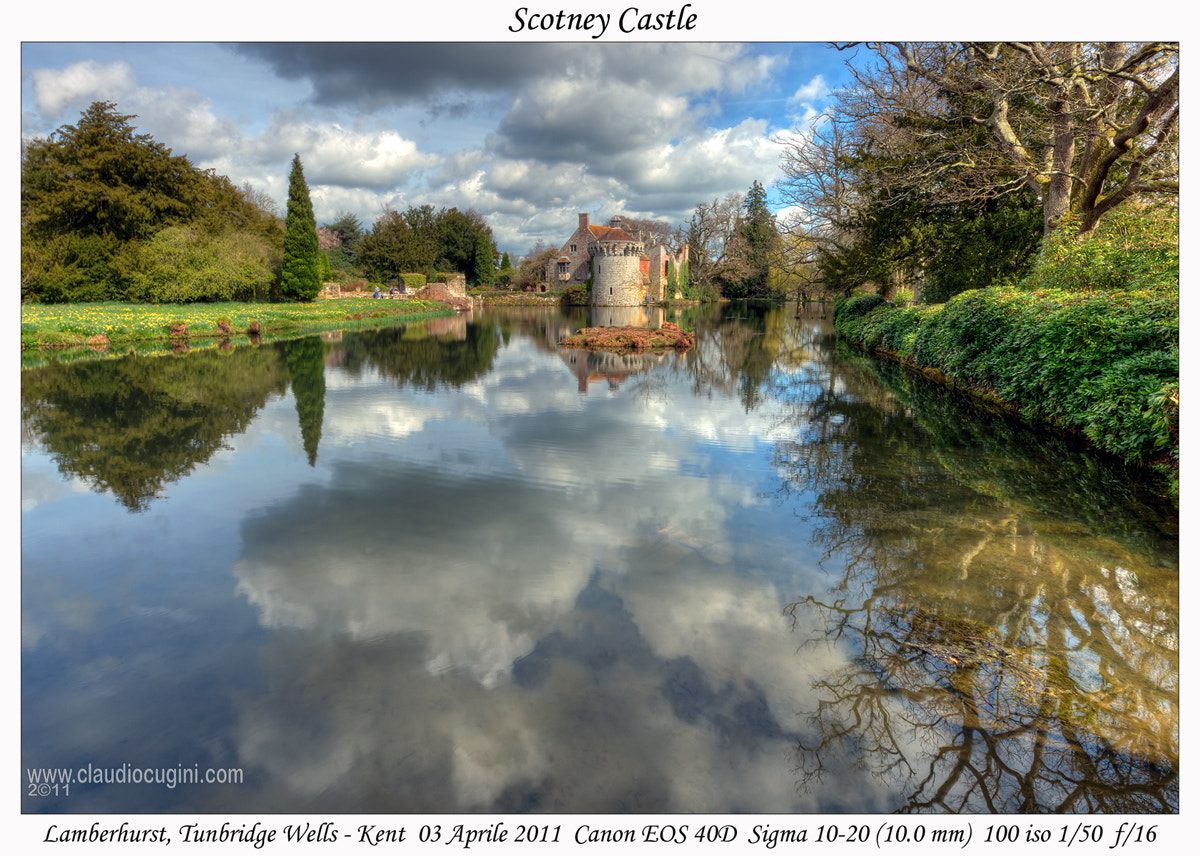 Photograph Scotney Castle by Claudio Cugini on 500px