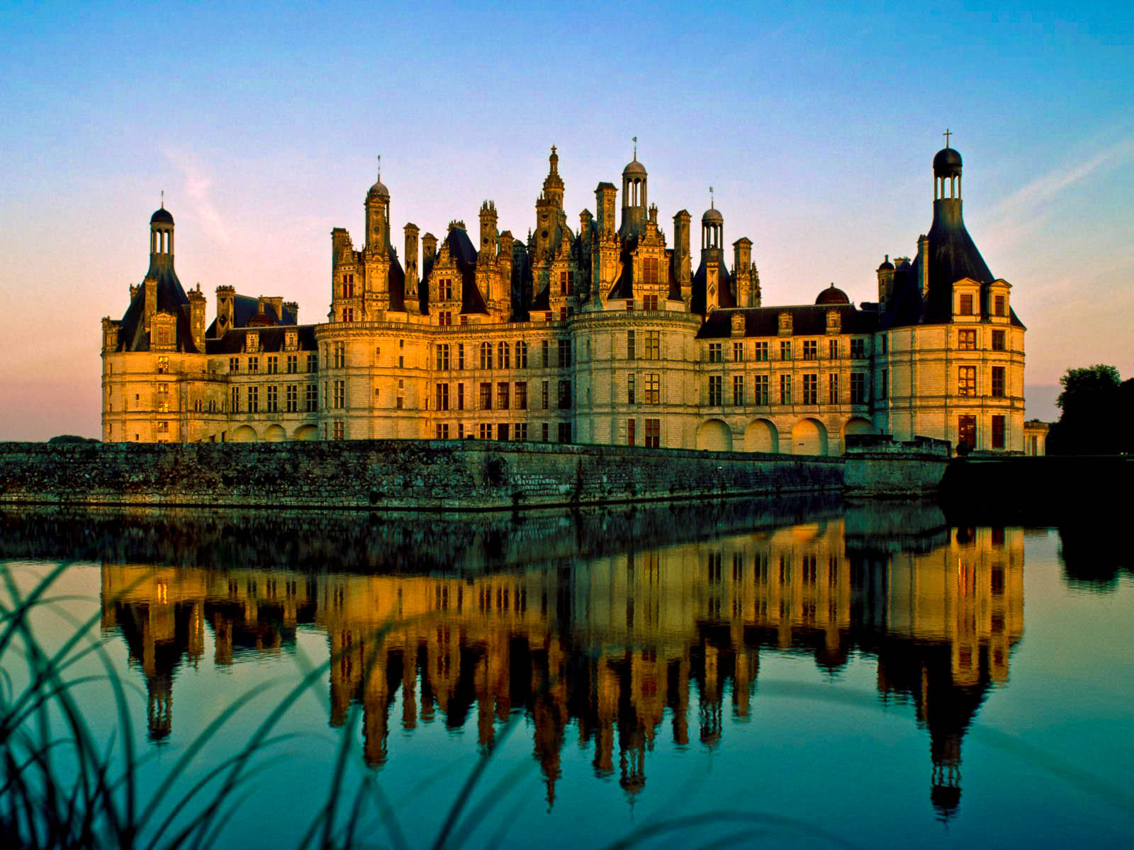 Photograph Sunset at Chambord  by Marion Rousseau  on 500px